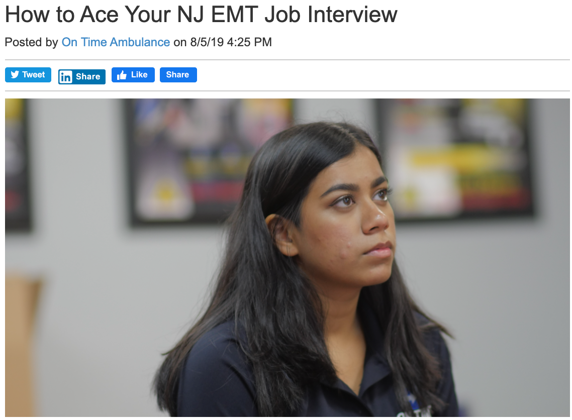 EMS Blogging NJ   JAM Graphics