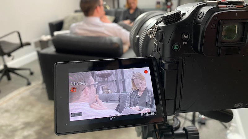 jam behind the scenes video interview